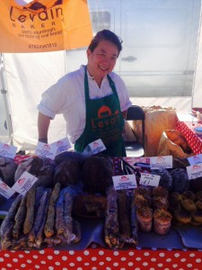 Carol bread stall