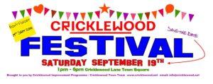 Cricklewood Festival 2015 flyer