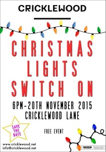 Save the Date - Christmas Lights Switch On