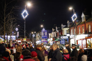 Cricklewood Christmas Lights Switch On - 20th November 2015.
