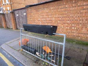 kerbside barriers before