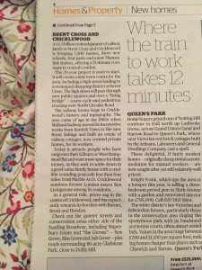 Evening Standard pull out
