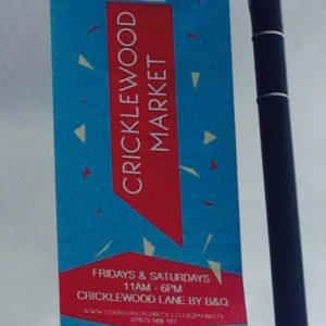 Crick Market banner