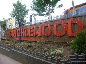 Crick Station sign photo