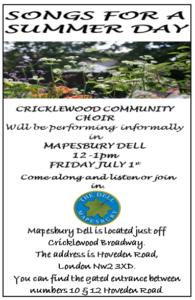 Cricklewood Community Choir