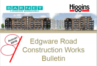 Edgware Road construction bulletin