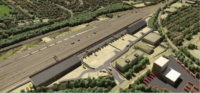 Plans for a road/rail freight superhub in Cricklewood