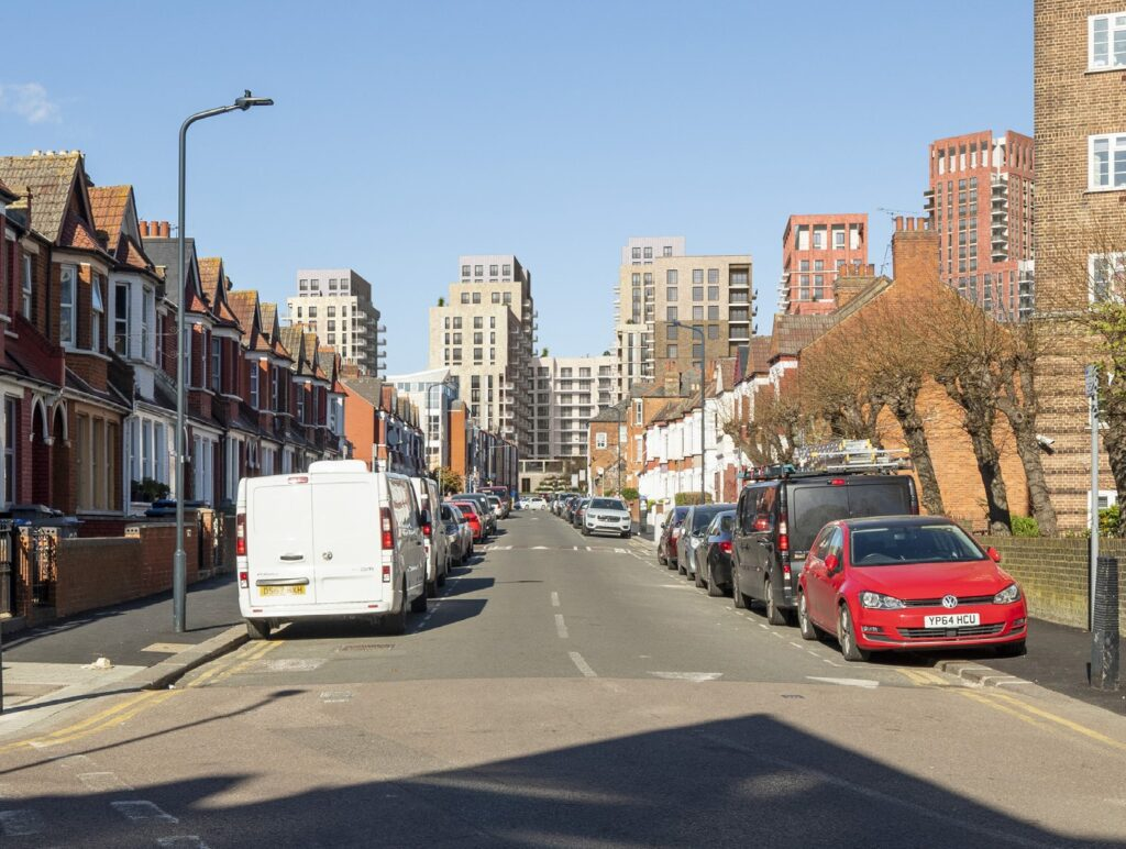 view from Ashford Road