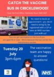 Vaccine Bus – Tuesday 20 July